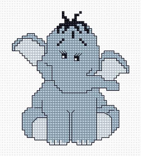 B041 - Cross Stitch Kit Luca-S