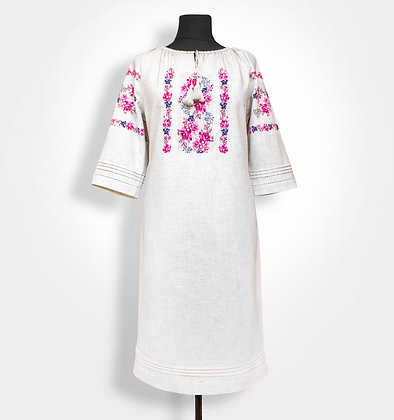 BRF-201/3 - Dress for cross stitch embroidery