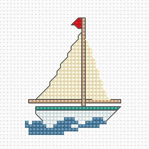 B017 - Cross Stitch Kit Luca-S