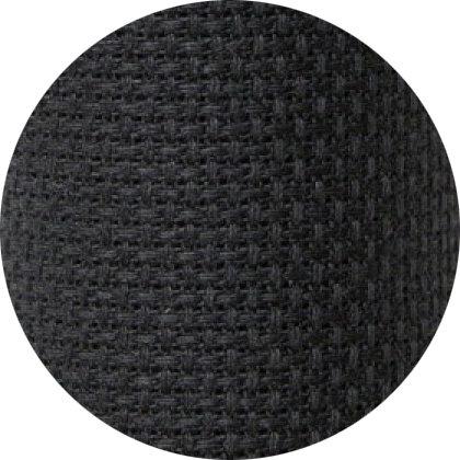 Aida fabric 18 ct. 720 black color