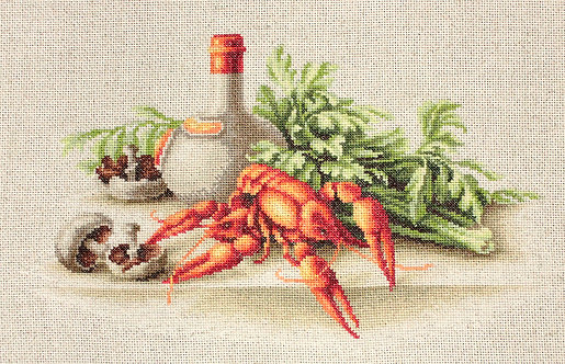 BL2258 Still-life with Crayfish