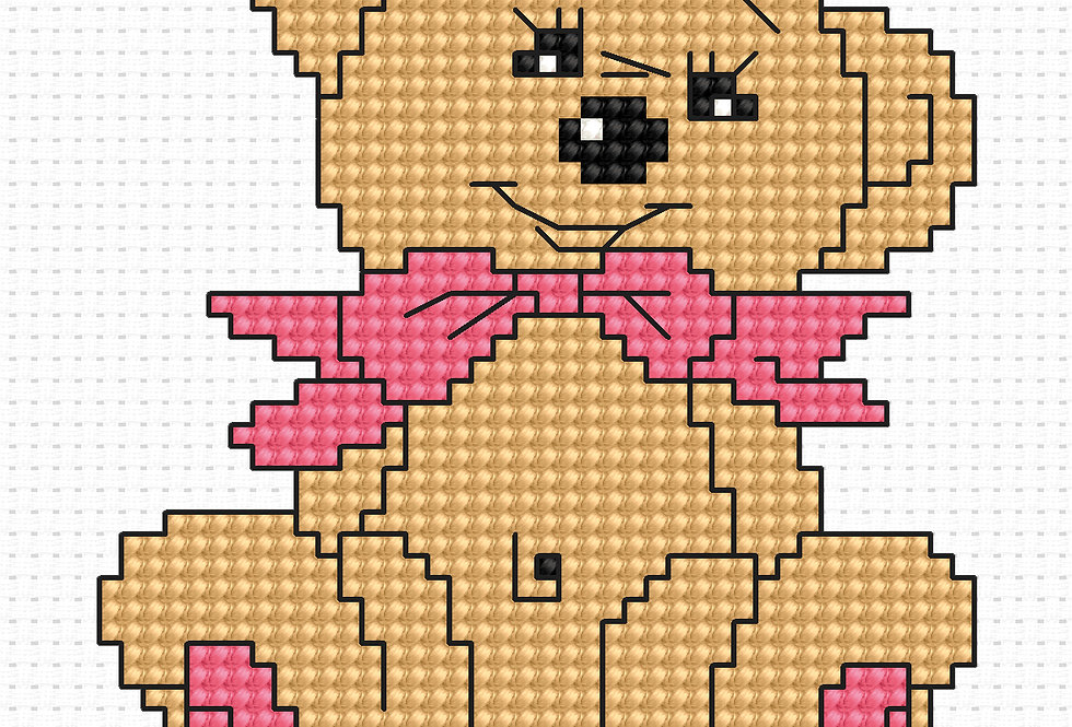 B087 - Cross Stitch Kit | Beginners