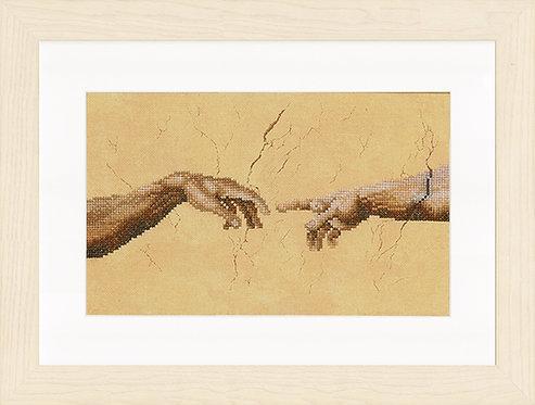 Creación - 2 manos - Lanarte - Kit de punto de cruz