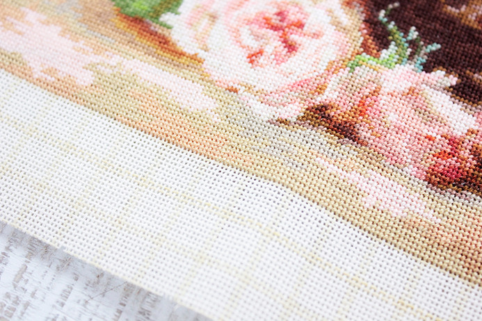 How to make the embroidery of Petit Point?