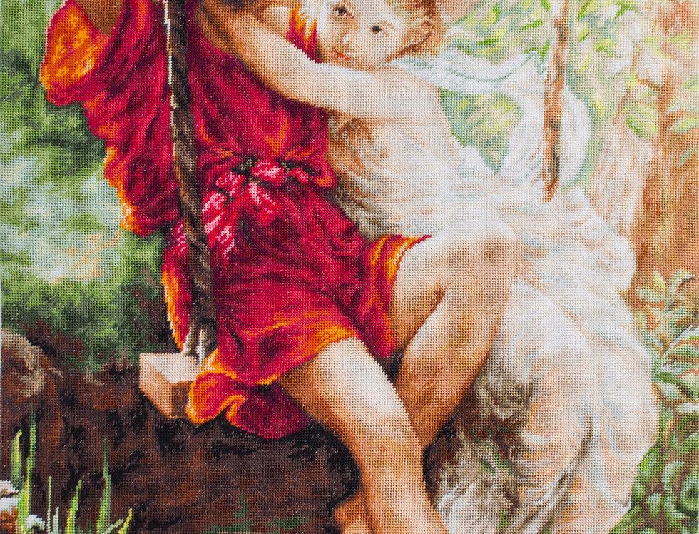 B415 Spring of lovers - Cross Stitch Kit Luca-S
