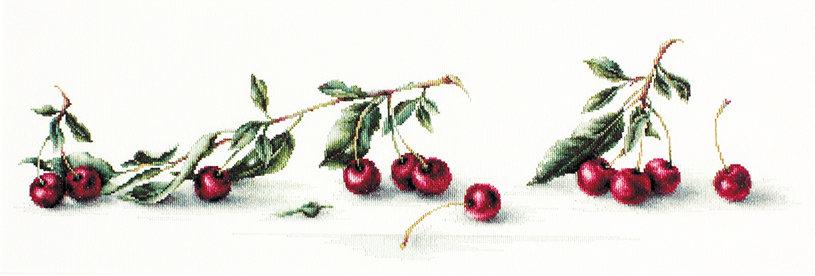 B2252 Cherry - Cross Stitch Kit Luca-S