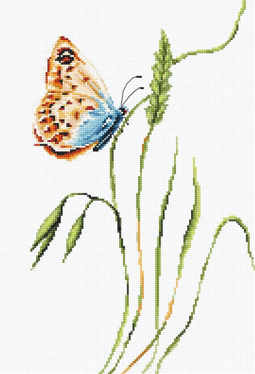 B2244 El olor de la primavera - Luca-S - Kit de Punto de Cruz