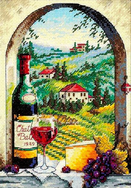Soñando con la Toscana - 06972 Dimensions - Kit de punto de cruz