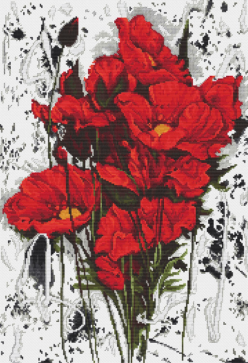 B2375 The Poppies