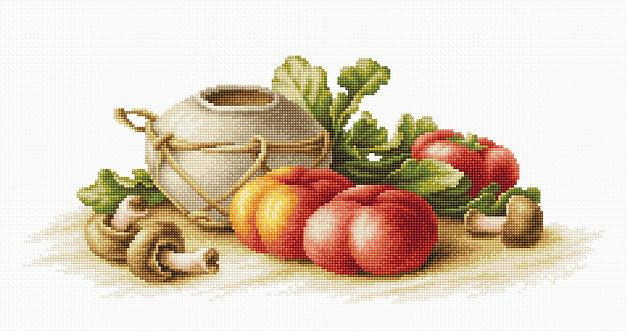 B2249 Still Life with Vegetables