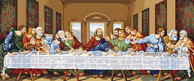G407 The Last Supper - Needlepoint kit Luca-S