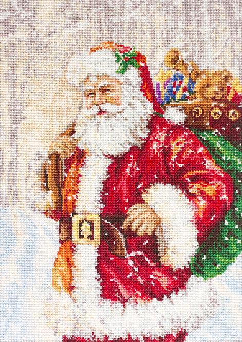 G575 Santa Claus - Needlepoint kit Luca-S
