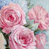 LETI 928 Pale Pink Roses