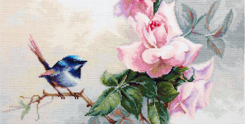 BA2313 Birdie - Cross Stitch Kit Luca-S