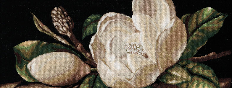 G484 Magnolia - Petit Point Kit Luca-S