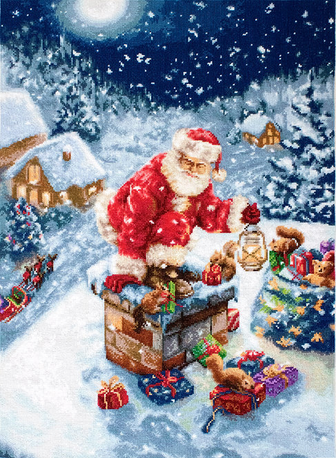 G577 Santa Claus - Needlepoint kit Luca-S