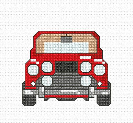 B024 - Cross Stitch Kit Luca-S