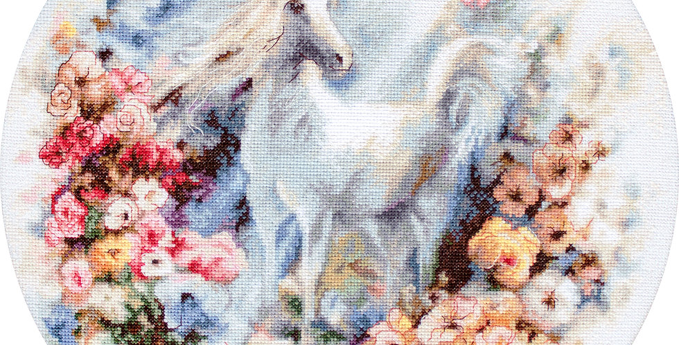 LETI903 Unicorn - Cross Stitch Kit LETISTITCH