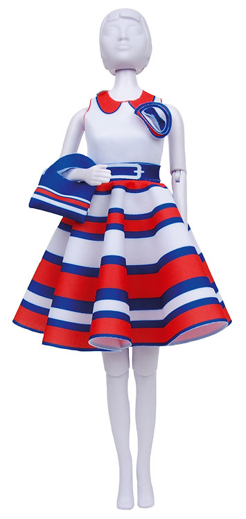 Peggy Stripes - Dress YourDoll