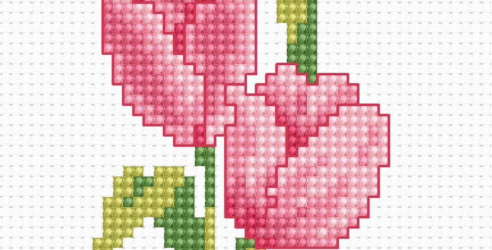 B022 - Cross Stitch Kit | Beginners