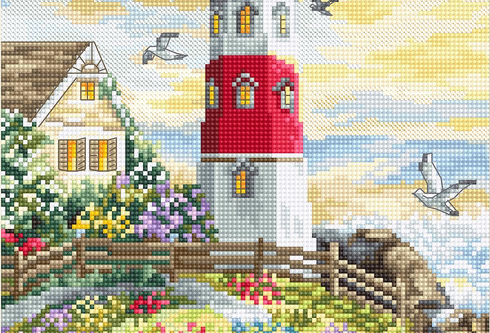 LETI917 The Lighthouse - Cross Stitch Kit LETISTITCH