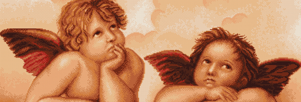 B319 Rafael's Little Angels - Cross Stitch Kit Luca-S
