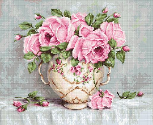 Roses - Aida 16 ct.