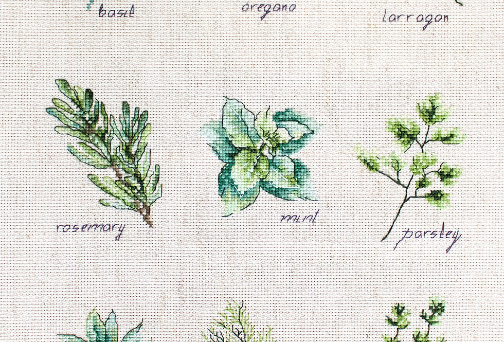 B2346 Spices and Herbs - Cross Stitch Kit