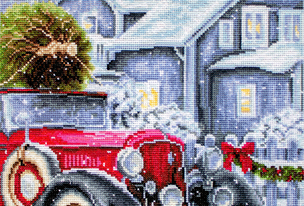 BU4010 Winter Holidays - Cross Stitch Kit Luca-S