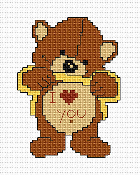 B086 - Cross Stitch Kit Luca-S