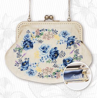 Bag - Blue Roses