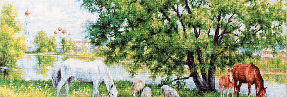 B541 Pastoral - Landscape - Cross Stitch Kit Luca-S