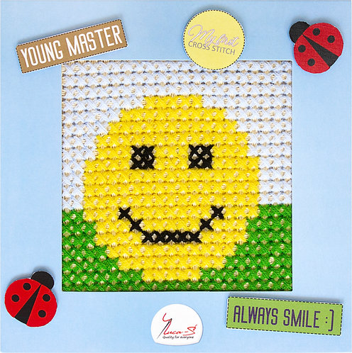 X01 Smile - Cross Stitch Kit Luca-S