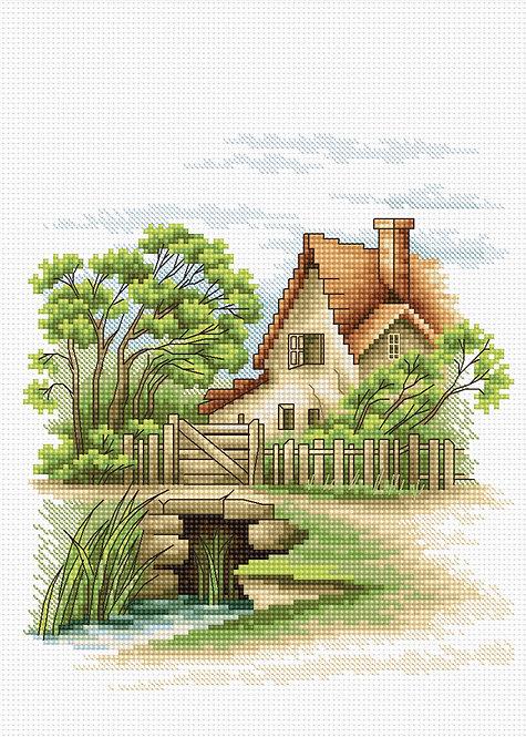 B2278 Summer Landscape