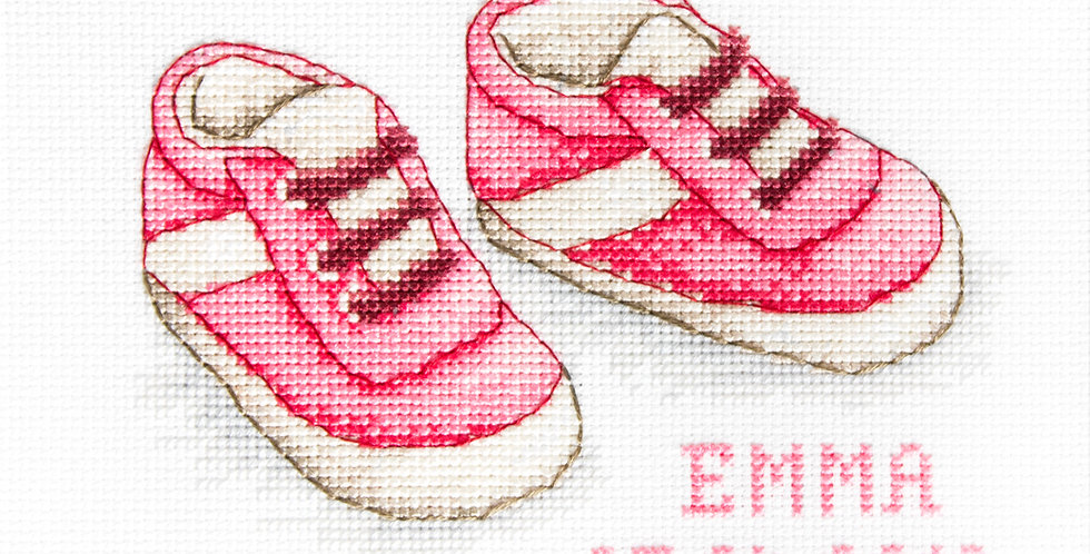 B1139 Baby Shoes - Cross Stitch Kit Luca-S