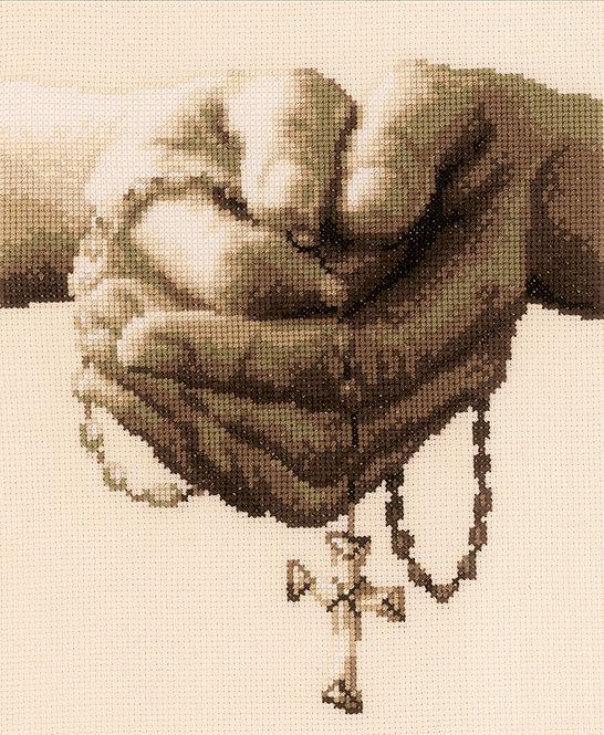 Oración - Vervaco - Kit de punto de cruz