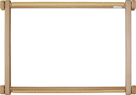 30x40 cm Square embroidery frame with clips - Luca-S