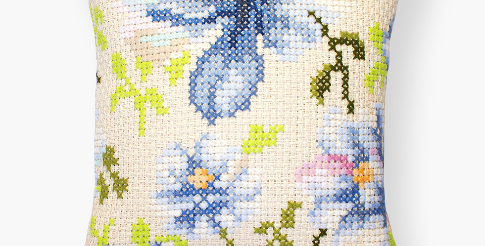 PB 155 Blue flowers | Cross Stitch Kit