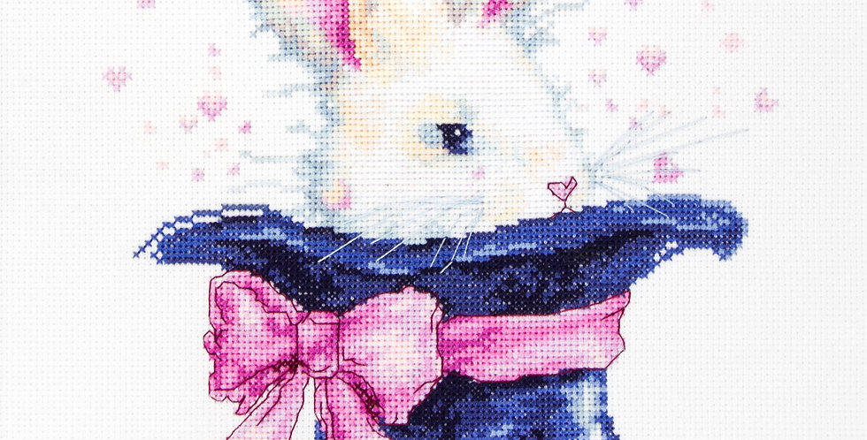 B2302 Bunny - Cross Stitch Kit Luca-S