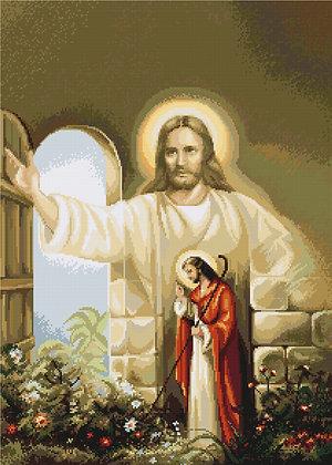 Jesus knocks on the door