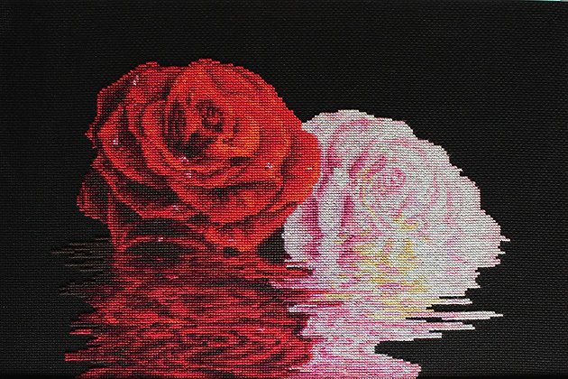 He and she - Roses