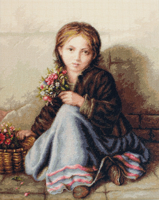 G513 Little flower girl