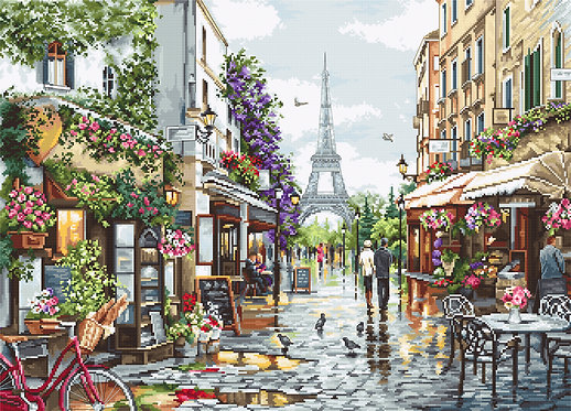 B2365 Paris in Flowers