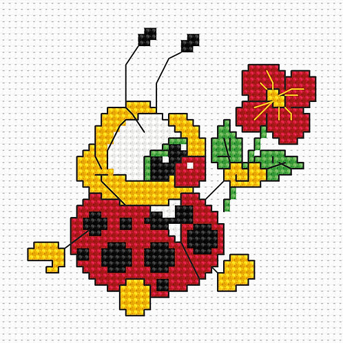 B062 - Cross Stitch Kit Luca-S