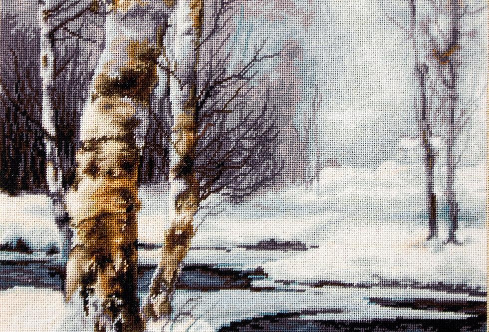 B560 Winter - Landscape - Cross Stitch Kit Luca-S