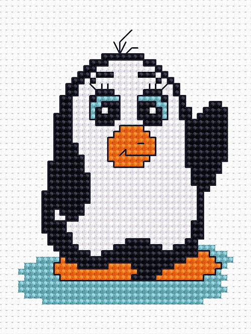 B090 - Cross Stitch Kit Luca-S