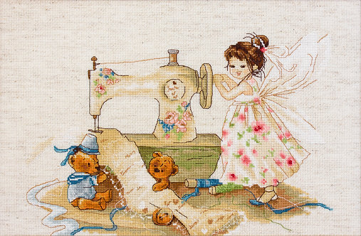 B1116 Needlework Fairy
