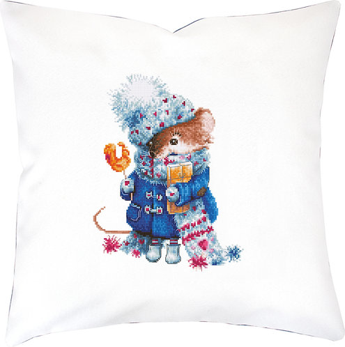 PB208 Pillowcase   Cross Stitch Kit