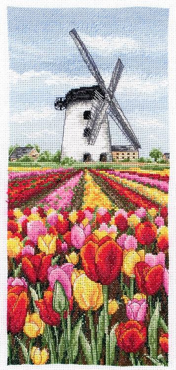 PCE0806 Dutch Tulips - Anchor - Kit de punto de cruz