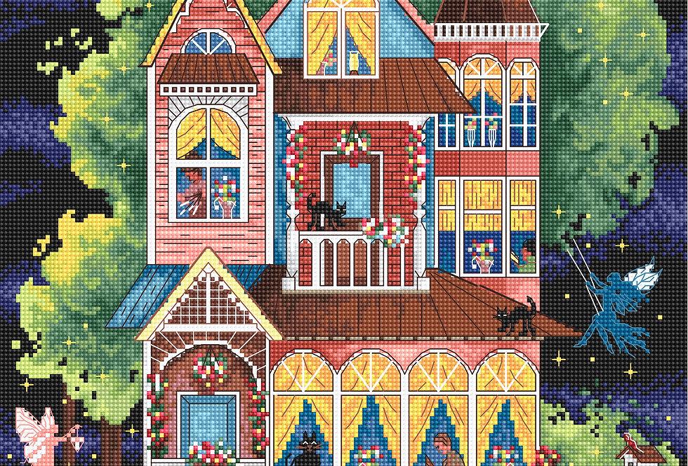 LETI 937 Fairy tale house - Cross Stitch Kit LETISTITCH